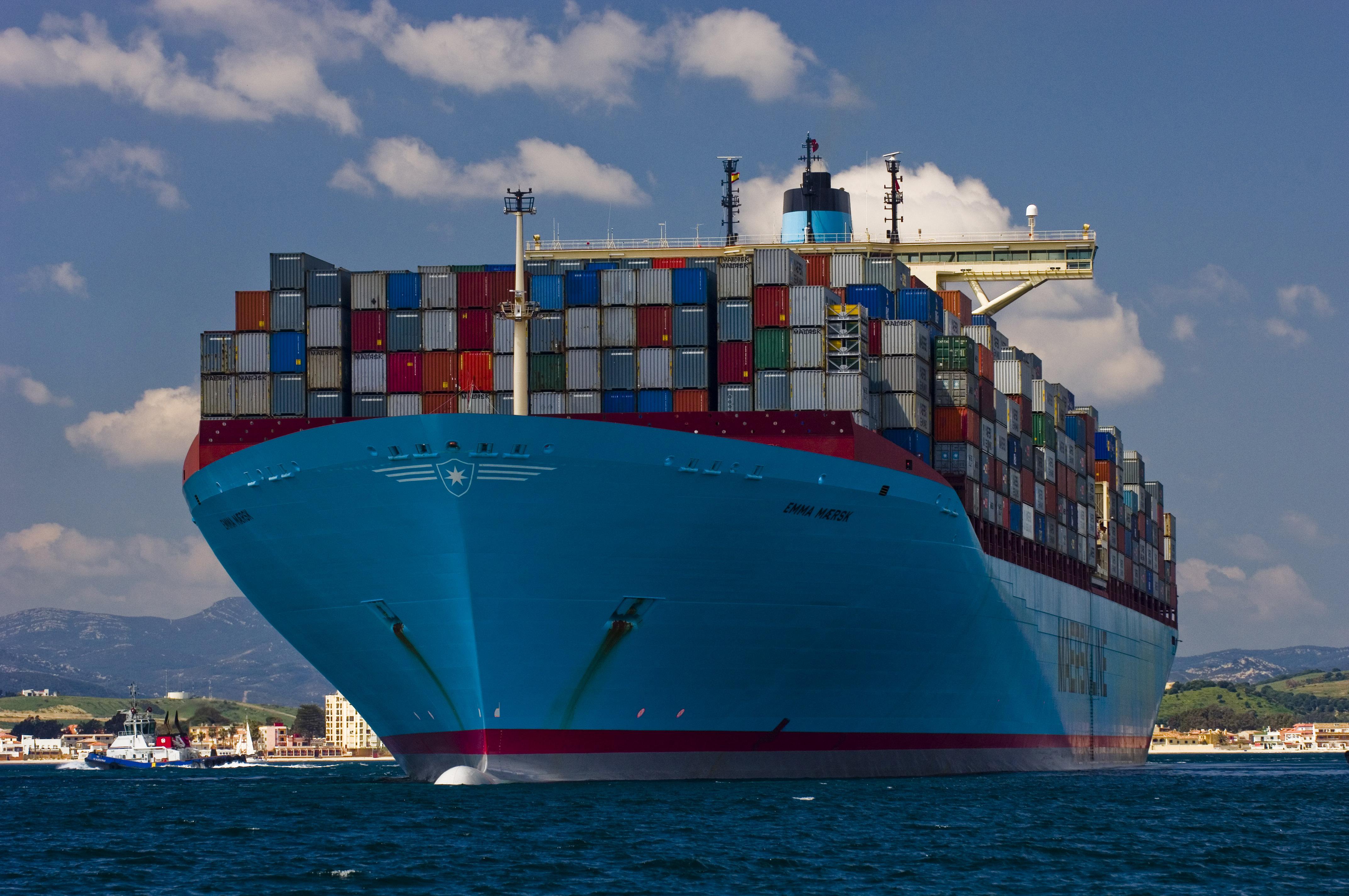 Las generaciones de grandes buques porta contenedores mar y gerencia - Contenedores de barco ...