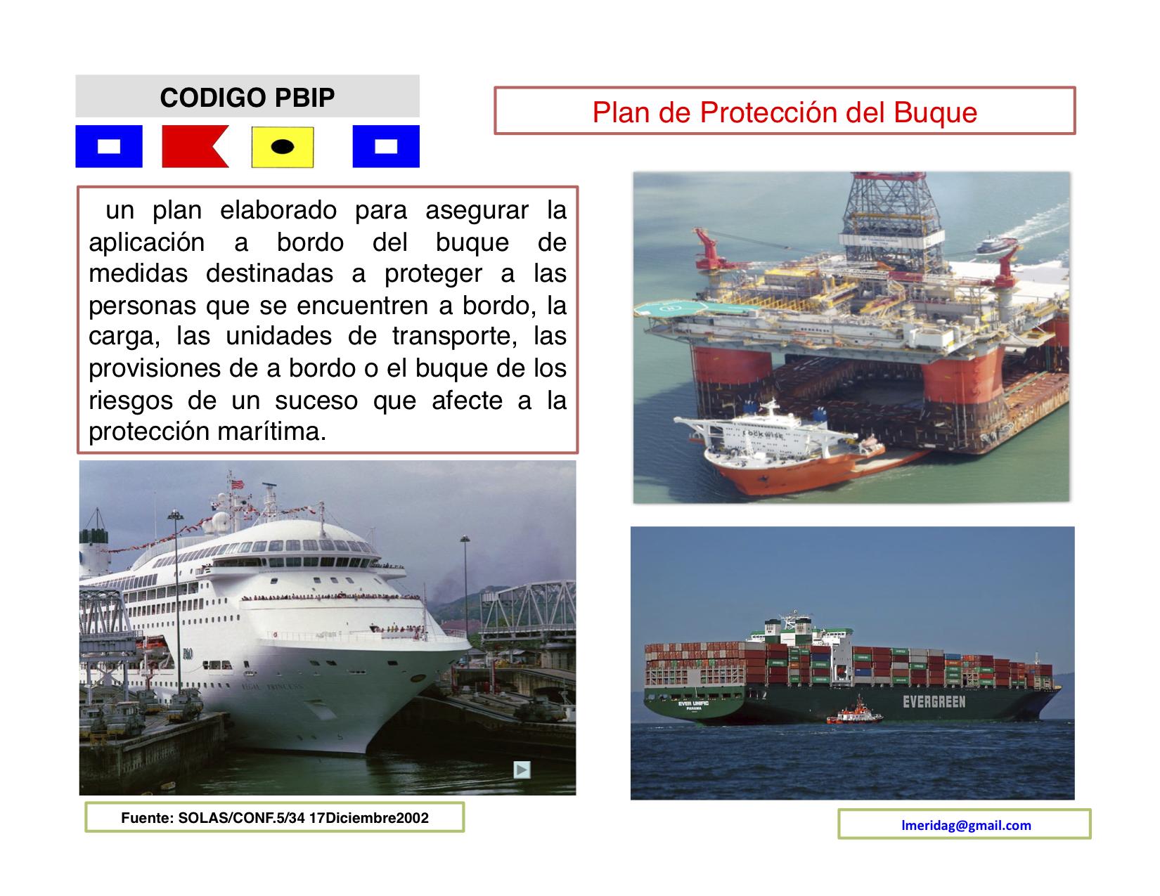 C digo internacional para la protecci n de los buques y de - Todo sobre barcos ...