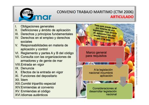 Articulado CTM 2006 : MLC 2006