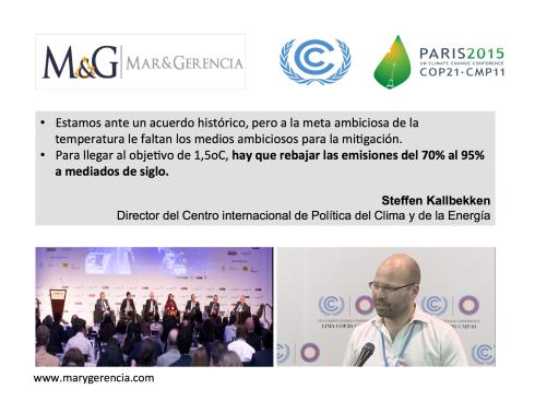 ACUERDO DE PARIS COP21