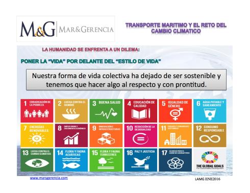 Transporte Maritimo y Cambio Climatico Desarrollo sostenible