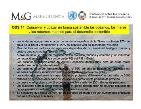 CONFERENCIA DE LOS OCEANOS ONU