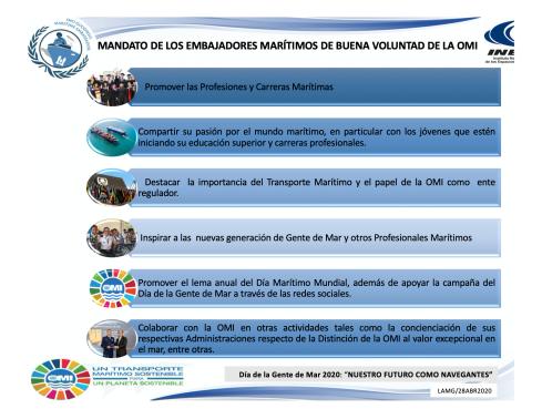 Programa Embajadores Marítimos OMI